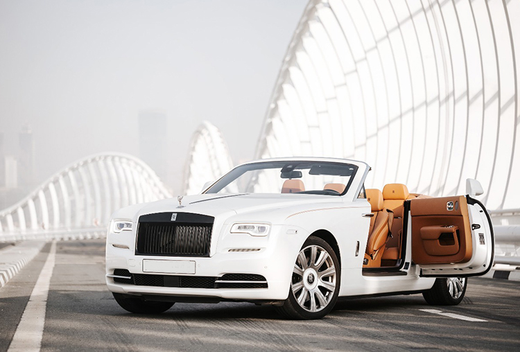 Rolls Royce Dawn or similar