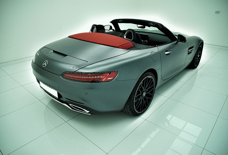 Mercedes- Benz AMG GTS Convertible