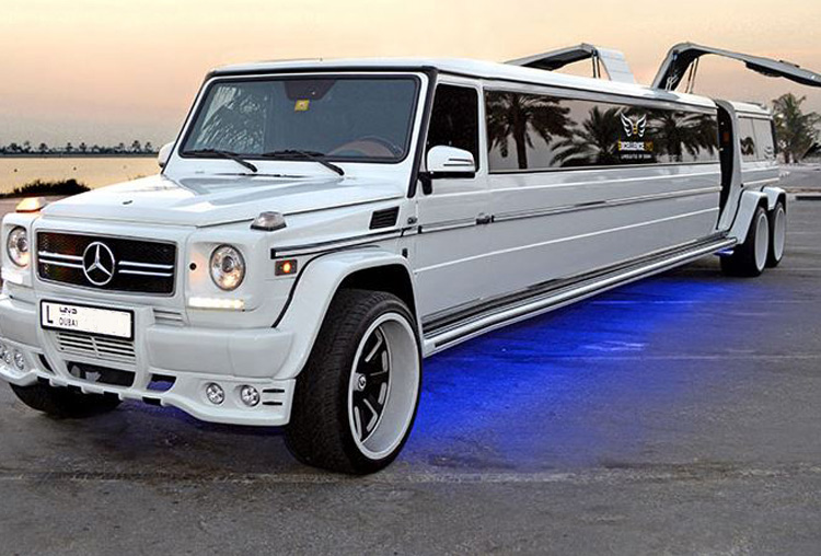 Mercedes G63 Limo