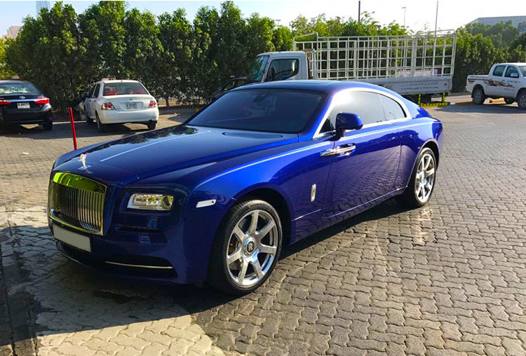 Rolls Royce Wraith with  1/P Free 12mins  Helicopter Tour