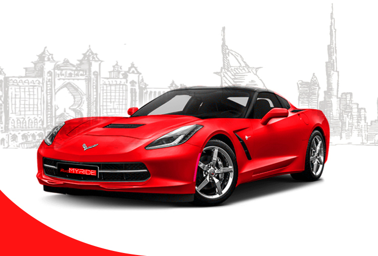 Rent Chevrolet Corvette in Dubai