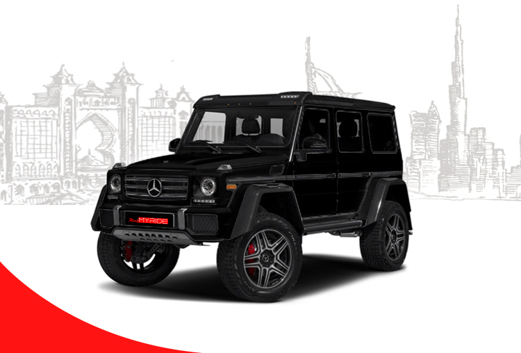Rent Mercedes Benz G500 4x4 in Dubai
