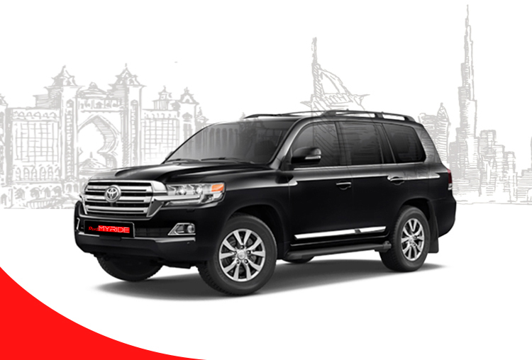 Rent Toyota Land Cruiser in Dubai