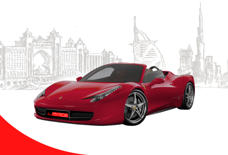 Rent-Ferrari-458-Spider-in-Dubai
