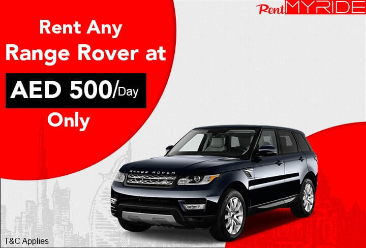 Range Rover 1 Day offer