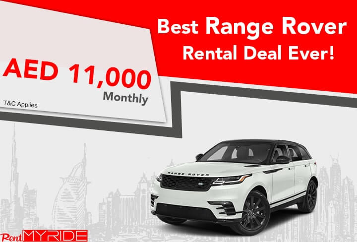 Range Rover Velar 1 Month Offer